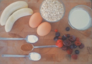 banaan havermout muffins ingredienten