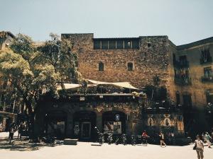 Het dakterras van Cer el Cle