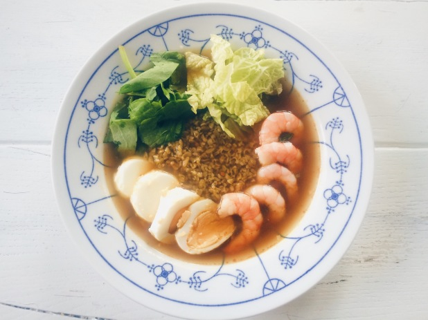 Aziatische maaltijdsoep